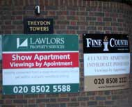 Theydon Towers notices